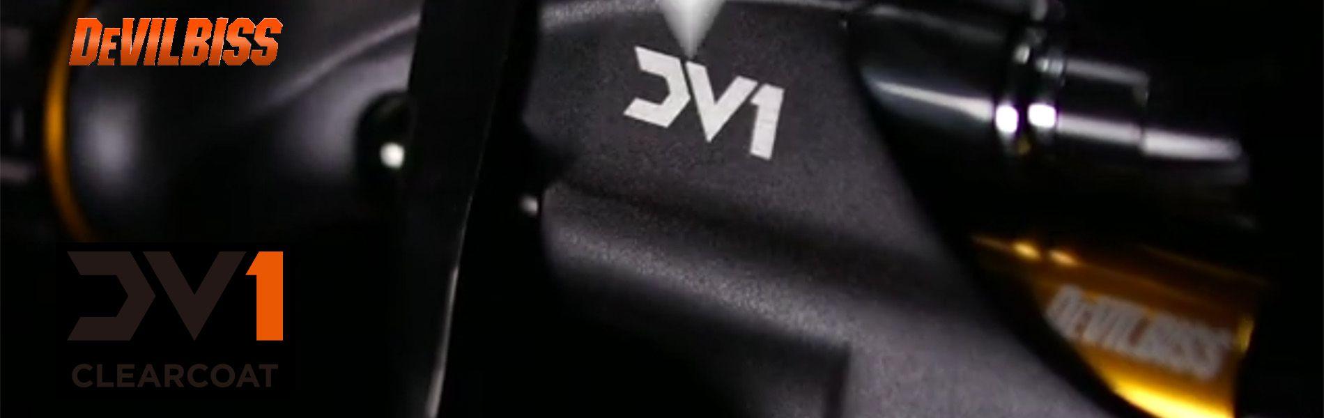 デビルビス DV-1クリアコートスプレーガン